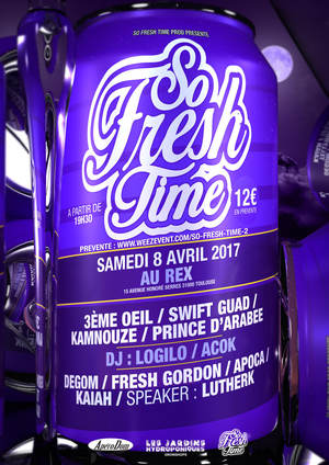 SO FRESH TIME / 3EME OEIL SWIFT GUAD KAMNOUZE PRINCE D'ARABEE