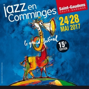 JAZZ EN COMMINGES - PASS 4 SOIRS - MER 24,JEU 25, VEN 26,SAM 27 MAI