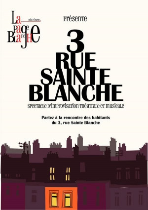 LA PAGE BLANCHE - 3 RUE SAINTE BLANCHE - COMEDIE de Toulouse ...