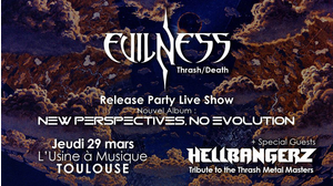 "Evilness ""New Album 2018 Release Party"" + Hellbangerz"