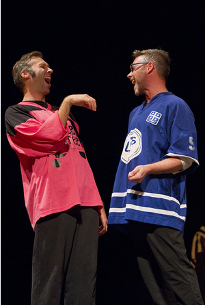 Match d'impro France VS Québec