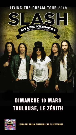 SLASH FEAT MYLES KENNEDY - AND THE CONSPIRATORS