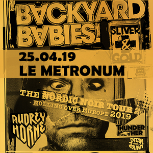 Backyard Babies, Audrey Horne, Thundermother