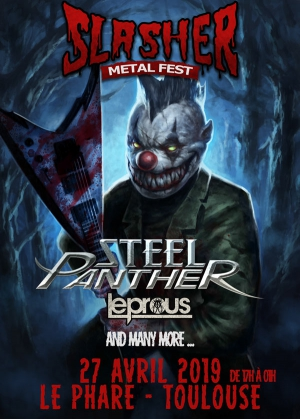 SLASHER FESTIVAL - STEEL PANTHER,LEPROUS & MANY MORE..