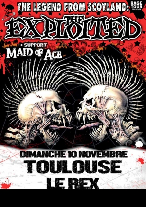 THE EXPLOITED + MAID OF ACE