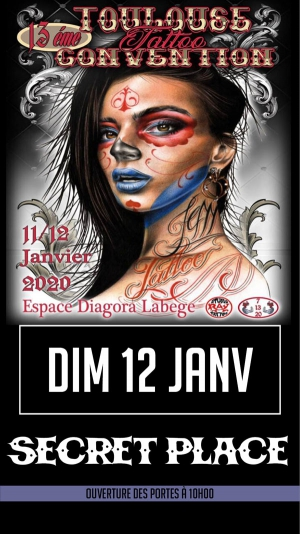 CONVENTION DE TATOUAGE TOULOUSE