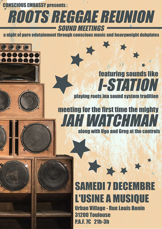 Roots Reggae Reunion : I-Station & Jah Watchman