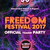 affiche FREEDOM FESTIVAL OFFICIAL TEASER PARTY - LE BIKINI TOULOUSE