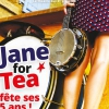 affiche JANE FOR TEA -