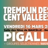 affiche TREMPLIN DES CENT VALLEES - BY SOFT'R FESTIVAL