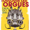 affiche 23e Festival international Toulouse les Orgues
