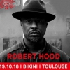 affiche ROBERT HOOD+MOLLY+LUUD DISCS - REX CLUB 30 TOUR