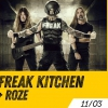 affiche FREAK KITCHEN + ROZE