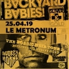 affiche BACKYARD BABIES + AUDREY HORNE + THUNDERMOTHER