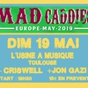affiche Mad Caddies / Criswell / Jon Gazi