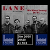 affiche Lane / We were young in '91