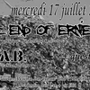 affiche Concert Metal Punk avec the End of Ernie + W.A.B. + guest
