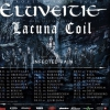 affiche ELUVEITIE-LACUNA COIL-INFECTED RAIN
