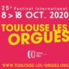 affiche Festival international Toulouse les Orgues 2020